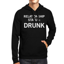 Relationship Status Unisex Crewneck Fleece Hoodie Humorous Graphic - $25.99+