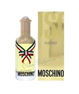 Moschino by Moschino For Women Eau de Toilette Spray 2.5oz 75ml * New in... - $32.33