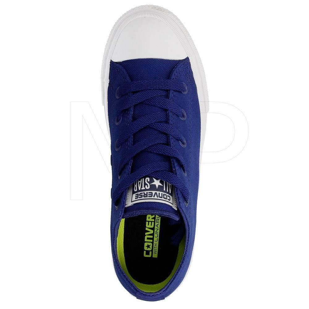 Converse All Star Chuck II Blue 350152C Preschool Shoes image 3