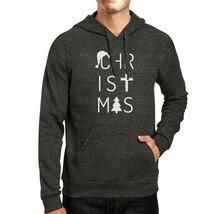 Christmas Letters Dark Grey Hoodie - $25.99+
