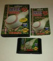 R.B.I. Baseball '93 (Sega Genesis, 1993) Complete - $6.79