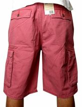 Levi's Men's Cotton Cargo Shorts Original Relaxed Fit Pink 12463-0037 image 4