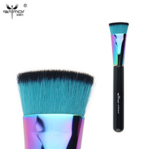 Anmor® Colorful Flat Brush Professional Makeup Brushes For Powder Cosmetics - $7.32