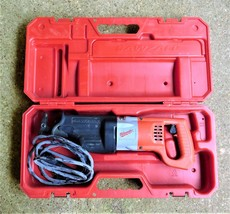 Milwaukee 6519-22 10amp 120V Sawzall Kit Variable Speed Reciprocating Sa... - $93.46