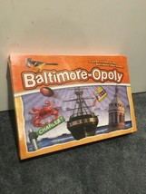 Baltimore Opoly Board Game Maryland 2-6 Players Ages 8-Adult Made in USA  NEW - $34.65