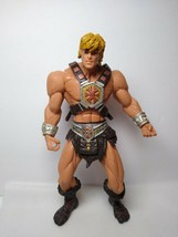 "Mattel 2001 HE MAN Action Figure w/ Weapon Vest Masters Of The Universe 6"" - $9.89"