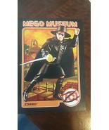 2012 MEGO MUSEUM PALITOY ZORRO PROMO PROMOTIONAL TRADING CARD # 99  - $19.79