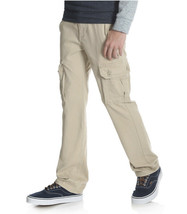 Wrangler Boys Flex Cargo Slim Fit Pant Beige Tan 9RKHWBF Size 4 Regular - $23.16
