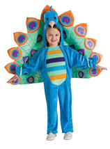 Newborn Peacock Halloween Costume 0 to 6 Months - Free Shipping - $35.00