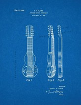 Stringed Musical Instrument Patent Print - Blueprint - $7.95+
