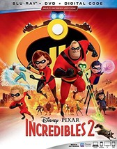 Disney Pixar Incredibles 2 [Blu-ray + DVD + Digital]