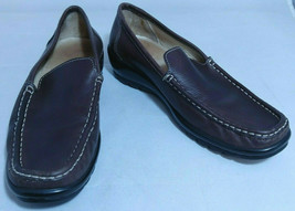Coach LIANNA Calf Leather Loafers Brown Size 7B Made In Italy - $37.24