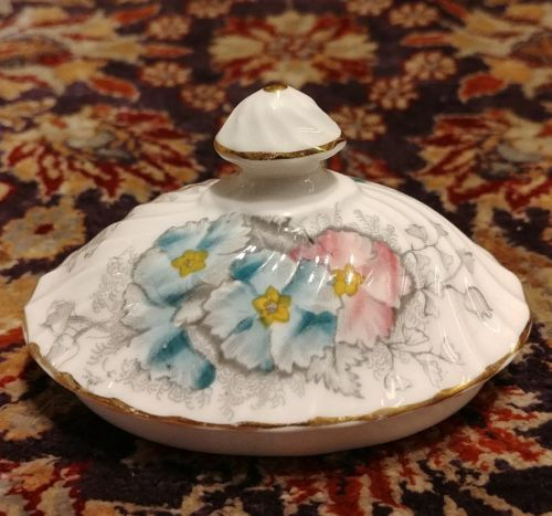 Vintage Aynsley PRIMULA Sugar Bowl Lid Only Bone China England