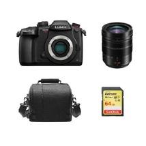 PANASONIC GH5S Black + 12-60mm F2.8-4.0 ASPH Black + 64GB SD card + Came... - $2,694.29