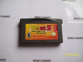 Dragon Ball Z The Legacy of Goku II (Nintendo Game Boy Advance) AUTHENTIC - $8.99