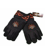 Harley-Davidson  Lined Mens Work Gloves Set Cut Resistant Motorcycle - $15.48