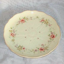 """MIKASA SPRING MELODIES FOREVER SALAD PLATE FV592 9 1/4"""" PINK YELLOW FLO... - $17.99"""