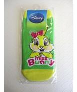 "NIP Disney Bambi ""MISS BUNNY"" Women / Teen Ankle-High Socks, S (4-7) - $5.70"