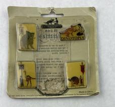 4 Dinotopia Vintage Collectible Pins 1993 James Gurney - $42.08