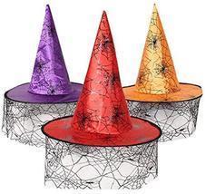 Alien Storehouse Halloween party hats Pumpkin hat powwow hat Witches Hat... - $12.03