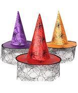 Alien Storehouse Halloween party hats Pumpkin hat powwow hat Witches Hat... - $12.03
