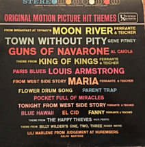 Original Motion Picture Hit Themes [Vinyl LP, Brand New] Various Artists - $84.10