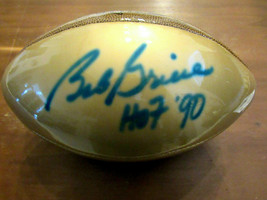 BOB GRIESE HOF 90 MIAMI DOLPHINS SBC 17-0 SIGNED AUTO WILSON GOLD BALL G... - $148.49