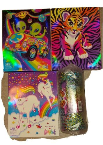 4x Morphe X Lisa Frank 35B Alien Print Palette BUNLE  NWT 100% AUTHENTIC!