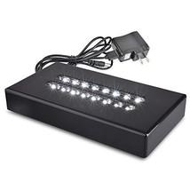 Santa Cruz Lights Large Black Lacquer Double Line 16 LED White Light Sta... - $51.21