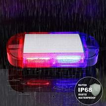 126 LED Strobe-Warning-Lights-Bar 12V Rotation Flashing Beacon Emergency Light M image 4