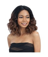 MODEL MODEL DEEP INVISIBLE L PART SYNTHETIC MEDIUM CURLY HAIR WIG - JOANNA - $19.95