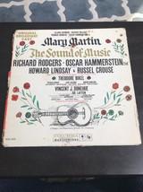 Mary Martin The Sound Of Music Original Cast Album Music And Book LP - $11.52