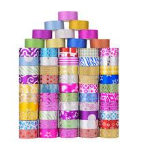 60Pcs Glitter Tape Set DIY Golden Onion Powder and Paper Tape Journal Dia - $33.00