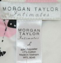 Morgan Taylor Intimates Bubble People Adult Large Pajama Set Grade B image 7