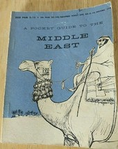 Book A Pocket Guide to the Middle East 1957 - $18.00