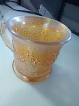 Fenton Orange Tree Marigold Carnival Mug Cup - $5.47