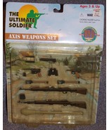 2000 21st Century Toys Ultimate Soldier Axis Weapons Set New In The Package - $24.99