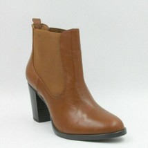 Isaac Mizrahi Live Women Chelsea Boots Mary Size US 7.5M Brown Leather - $33.54