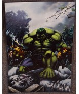 Marvel Incredible Hulk vs Wolverine & Wendigo Glossy Art Print 11 x 17 I... - $24.99