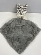 Restoration Hardware Baby & Child Elephant Lovey Grey Security Blanket P... - $37.62