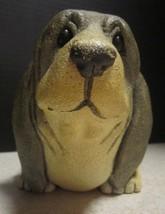 basset hound figurine larger size not the tiny ones hallmark Lori Rankins number - $21.02