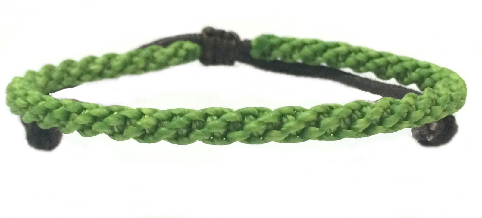 Braided Men's Wax Cotton Thai Wristband Bracelet Handcrafted Classic Wristwear