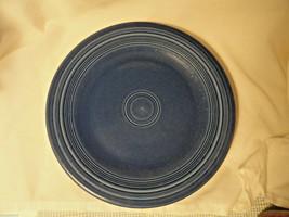"Dark Blue Post-82 10.5"" Fiesta Dinner Plate Homer Laughlin - $7.99"