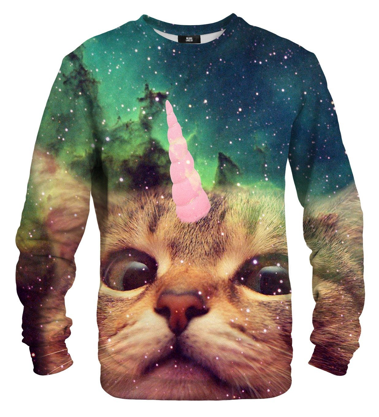Unicat Printed Sweatshirt | Unisex | XS-2XL | Mr.Gugu & Miss Go
