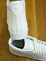 Converse Mens PL 76 Mid Leather Basketball Shoes Classic Triple White Size 9   image 5