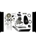80cc 2-Stroke Bicycle Gasoline Engine Motor Kit DIY Motorized Bike Silve... - $128.97