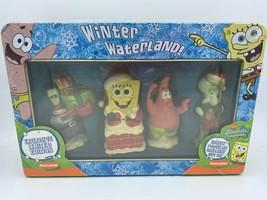 Spongebob Squarepants Winter Waterland Limited Edition Ornament Gift Set - $35.00