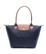 Longchamp Le Pliage Small Nylon Tote Shoulder Bag ~NIP~ Navy - $116.82
