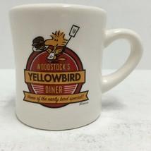 Woodstock's Yellowbird Diner Restaurant Style Coffee Cup Hallmark Peanut... - $16.82