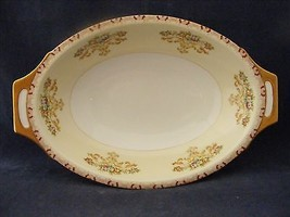 """Meito NSP China Handpainted Japan Oval Serving Bowl 11 5/8 x 7 5/8""""  - $29.95"""